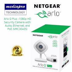 Netgear Vmc3040S Arlo Q Plus 1080P Hd Security Camera With Audio Ethernet And Poe Promo Code
