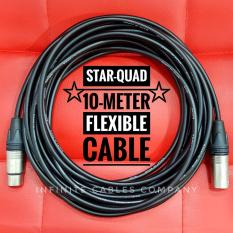 Best Price Neutrik Xlr With Canare Star Quad Cable 10 Meter