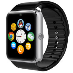 Wholesale New 1 54 Gt08 Touch Screen Bluetooth Smart Wrist Watch Phone For Android Ios Silver
