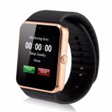 New 1 54 Gt08 Touch Screen Bluetooth Smart Wrist Watch Phone For Android Ios Golden Intl Oem Discount