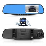 New 170° Dual Lens Car Dvr Mirror Video Recorder High Definition Camera Intl Promo Code