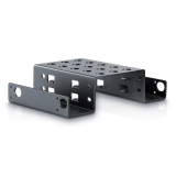 New 2 Bay Hdd Aluminum Rack 5 25 To 2 5 Ssd Hdd Hard Disk Drive Mount Bracket Coupon