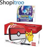Sale New 2Ds Xl Console Pokeball Edition 3Ds Pokemon Moon Nintendo Cheap