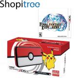 Recent New 2Ds Xl Console Pokeball Edition 3Ds Final Fantasy Explorers