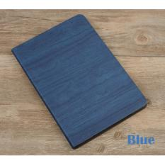 Price 1X New Apple Ipad 9 7 2017 2018 Wood Grain Magnetic Flip Case Blue Apple Original