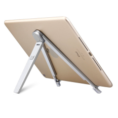 New Arrival Aluminum Alloy Foldable Tablet Lazy Stand Holder Mount for 7 to 12 Inch Tablet Holder for laptop - intl