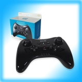 New Black Cordless Usb Chargeable Game Controller Pro For Wii U Wiiu Gamepad Intl Cheap