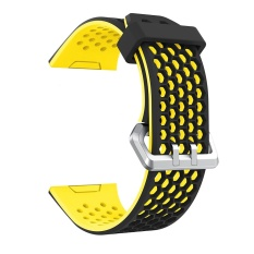 Sale New Fashion Lightweight Ventilate Silicone Perforated Accessory Sport Bands For Fit Bit Ionic Intl Oem Original