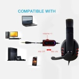 Buy New Gaming Headset Voice Control Wired Hi Fi Sound Quality For Ps4 Black Red Intl Vivimall Online