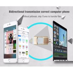 Retail Price New Hot 3 In 1 Thumbdrive Otg Phone Usb Flash Drive 32Gb U Disk For Iphone 5 5S 6 6S Ipad Android Memory Stick Random Color