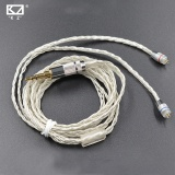 Discount New Kz Zst Kz Ed12 Dedicated Cable 75Mm 2Pin Upgraded Plated Silver Cable 2 Pin Upgrade Cable Ues For Kz Zst Free Shipping Intl Kz On China