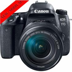 Retail New Model Canon Eos 77D Ef S 18 135Mm Is Usm Lens Black