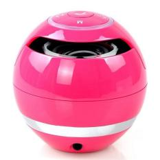 Best Offer New Portable Gs009 Mini Portable Wireless Bluetooth Speaker Mini Ball Shaped Super Bass Stereo Handsfree Mic Tf Card With Led Light Intl