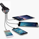 Buy New Qualcomm Certified Qc3 Quick Charge With Four Usb Port Fast Car Charger Intl China
