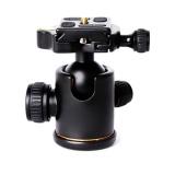 New Qzsd 02 Aluminum Camera Tripod Ball Head Ballhead With Quick Release Plate Tripod Selfie Stick Monopod Intl Shop