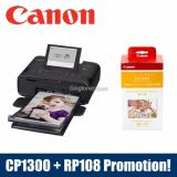 Buying Singapore Warranty Canon Selphy Cp1300 Mobile Wi Fi Printer Black Pink White Rp108