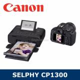 Buy Singapore Warranty Canon Selphy Cp1300 Mobile Wi Fi Printer With Variety Of Print Functions Black Color Canon