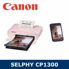 Discounted Singapore Warranty Canon Selphy Cp1300 Mobile Wi Fi Printer With Variety Of Print Functions Pink Color