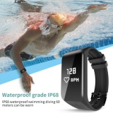 Where Can You Buy Newest Smart Band K1 Smartband Heart Rate Monitor Sport Bracelet Fitness Tracker Waterproof Watch For Ios Android Smartphone Intl