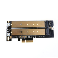 Buy Ngff M 2 B B M Key Or Pcie Ssd To Sata Board High Speed Adapter Card Intl Not Specified Cheap