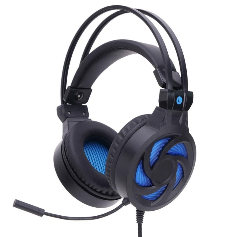 niceEshop Gaming Headset, Soyto PC Gaming Over Ear Headphone Stereo Headset Noise Isolating With Microphone For PC /Laptop/ Cellphone (Without Backlight) - intl Singapore