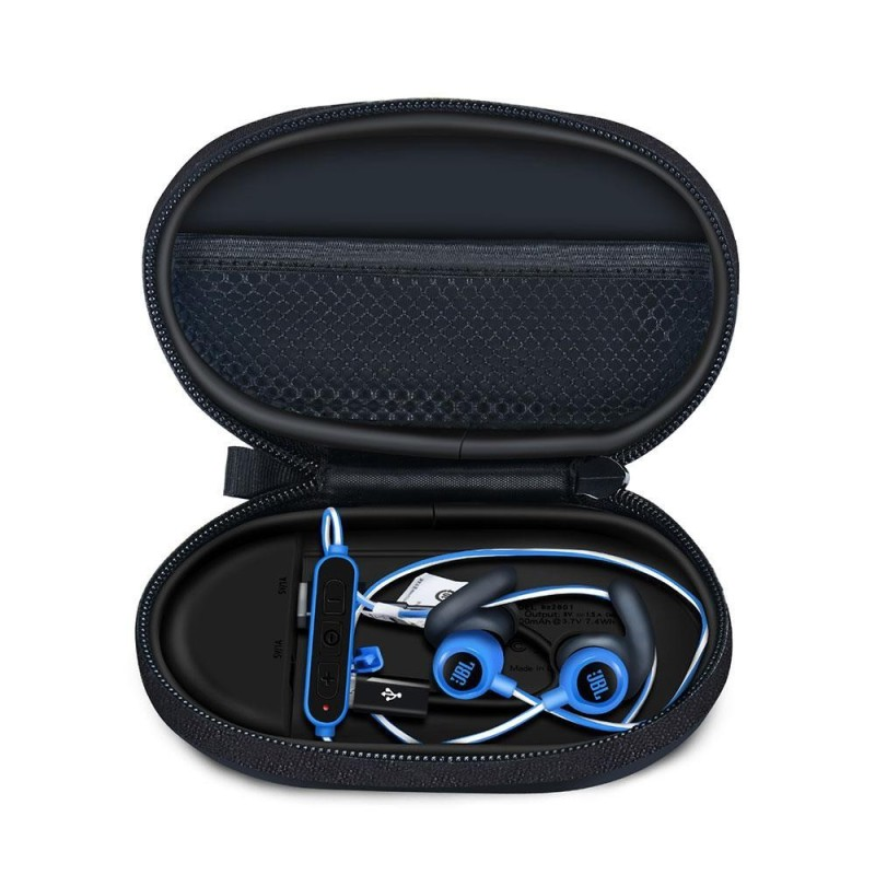 niceEshop Headphone Charging Case For Bluetooth Earphones Lightweight Portable Case (Black) - intl Singapore