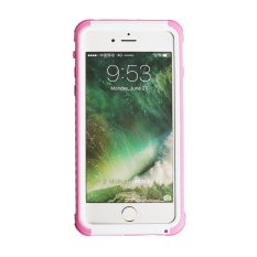 Cheaper Niceeshop Iphone 7 Plus Waterproof Case Water Shock Dust Dirt Proof Heavy Duty Hard Cover With Full Protective Case Cover For Apple Iphone 7 Plus White Pink Intl