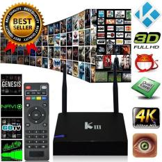 Niceeshop Kiii Smart Android Tv Box Android 5 1 S905 Quad Core 2G 16G Mini Pc 2 4 5G Dual Wifi Dlna Airplay Miracast Hd Media Player Us Plug Price Comparison