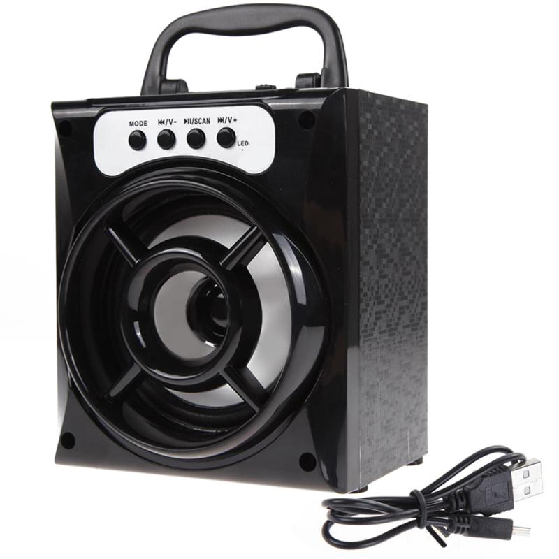 niceEshop Outdoor Bluetooth Speaker Portable Bluetooth Wireless Speaker Super Bass with USB/TF/AUX/FM Radio Singapore