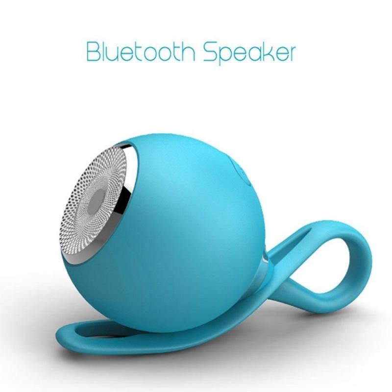 niceEshop Portable Wireless Waterproof Bluetooth Speaker, Outdoor Silicone Mini Sport Speaker (Blue) - intl Singapore