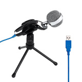 Compare Prices For Niceeshop Professional Podcast Studio Usb Microphone For Pc Laptop Skype Msn Recording Silver