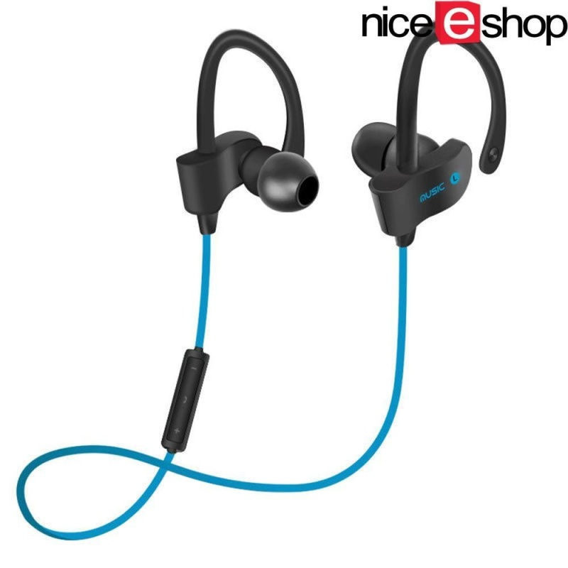 niceEshop Ubit 56S Sports In-Ear Wireless Bluetooth Earphone Stereo Earbuds Headset Bass Earphones With Mic For IPhone 6 Samsung Phone Singapore