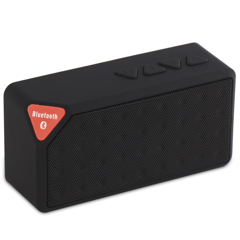 niceEshop Wireless Boombox Stereo Bluetooth Speaker (Black) Singapore