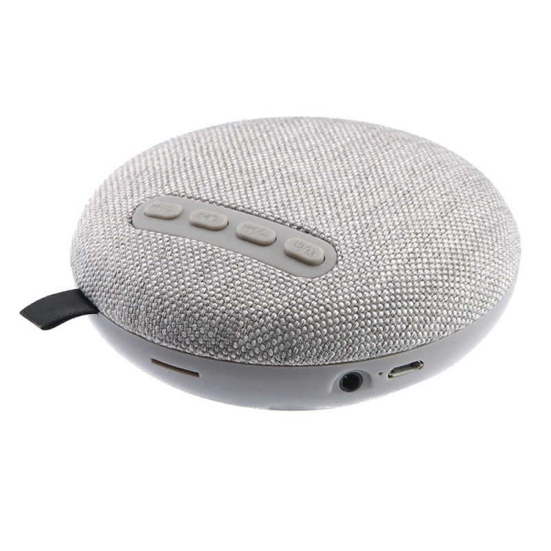 niceEshop Wireless Stereo Bluetooth Speaker, Travel Portable Speaker For Smartphone Tablet Computer (Grey) - intl Singapore