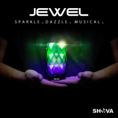 Review Night Light Portable Wireless Bluetooth Speaker Shava Jewel 6 Colour Led Light Theme For Indoor And Outdoor Activities Tf Card Usb Aux In Supported Clear Speaker Phone Function Shava