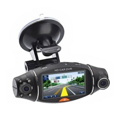 Best Offer Night Vision 2 7 Gps Hd 1080P Car Dual Lens Dvr Motion Monitor Dash Cam Intl