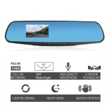 Night Vision Car Dvr Rear View Mirror Full Hd 1080P Vehicle 3 Data Recorder Intl Price