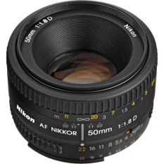 New Nikon Af Nikkor 50Mm F 1 8D Lens