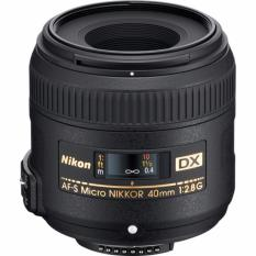 Nikon Af S Dx Micro Nikkor 40Mm F2 8G Black Lower Price