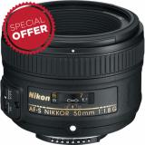 Nikon Af S Nikkor 50Mm 1 8G Price Comparison