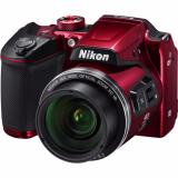 Retail Nikon Coolpix B500 Digital Camera Red Red