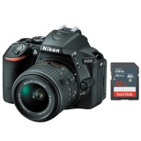 Who Sells The Cheapest Nikon D5500 Slr Camera 18 55Mm Af S Vr Ii Lens Sandisk 32Gb Sd Bundle Online