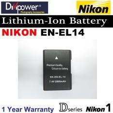 Nikon En El14 En El14A Lithium Ion Battery For D Series Nikon 1 Camera By Divipower Best Buy