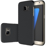 Buy Nillkin Carbon Synthetic Fiber Pp Plastic Cover Hard Phone Case For Samsung Galaxy S7 Edge G9350 Black