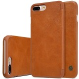 Nillkin Leather Case Cover Phone Bags For Apple Iphone 7 Plus Brown Coupon Code
