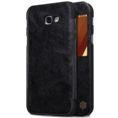 Cheapest Nillkin Leather Case Cover Phone Bags For Samsung Galaxy A7 2017 A720F Intl