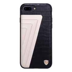 Top Brand Luxury Hybrid Crocodile Grain Leather Metal Pc Tpu Back Cover Ultra Thin Air Armor Shell Retro Phone Case For Apple Iphone 7 Plus 5 5 Black Gold In Stock