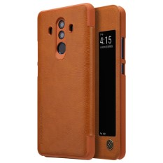 Review Nillkin Premium Ultra Thin Leather Flip Cover Case For Huawei Mate 10 Pro Phone Bag Shell Cases Intl Nillkin