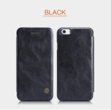 Store Nillkin Qin Leather Flip Case For Apple Iphone 6 6S Black Nillkin On Singapore