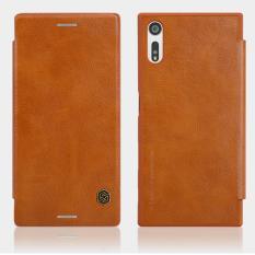 Sale Nillkin Qin Leather Flip Case For Sony Xperia Xz